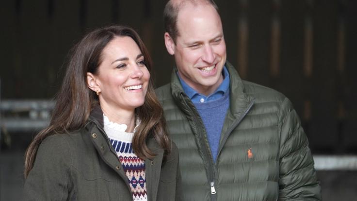 Kate Middleton und Prinz William sind fest entschlossen: Der Streit mit Prinz Harry und Meghan Markle muss ein Ende haben. (Foto)