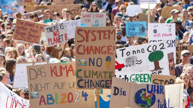 Fridays for Future fordern die Politik zum Handeln auf. (Foto)