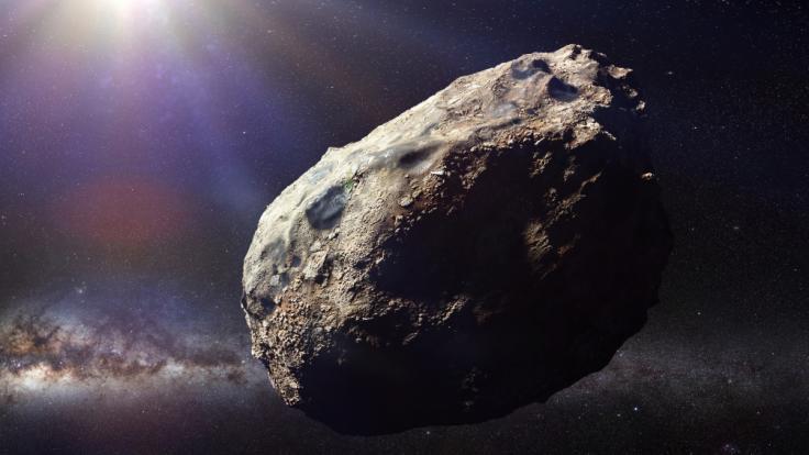 An Himmelfahrt rast ein Asteroid an der Erde vorbei. (Foto)