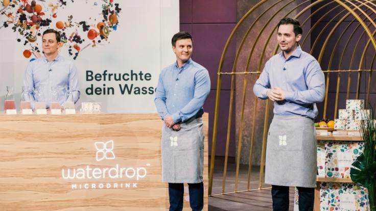 """Ob Waterdrop bei """"Die Höhle der Löwen"""" punkten kann? (Foto)"""