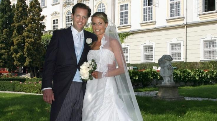 Malte und Claudia von Brauchitsch bei ihrer Hochzeit 2007. (Foto)