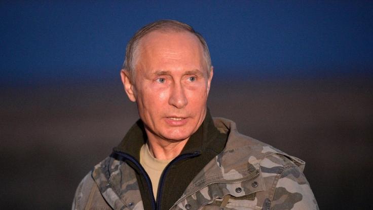 Wladimir Putin besucht die Region Orenburg.