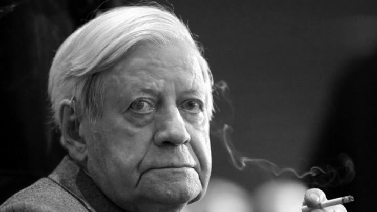 """Helmut Schmidt war für seine flotten Sprüche auch als """"Schmidt-Schnauze"""" bekannt. (Foto)"""