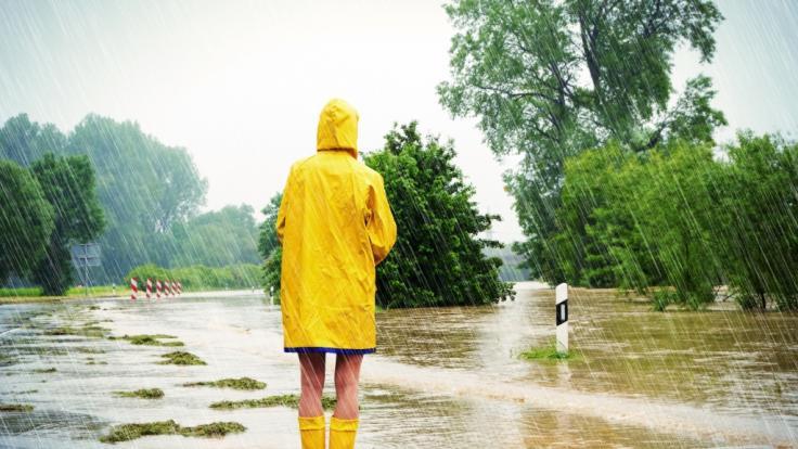 Tief Bernd bringt Starkregen nach Deutschland. (Foto)