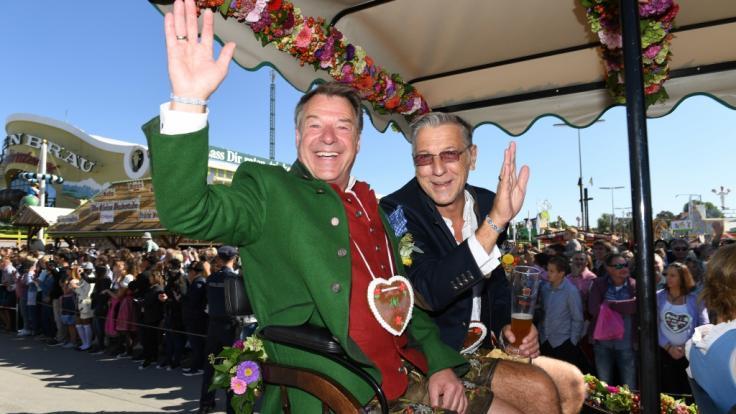 Schlagerstar Patrick Lindner und sein langjähriger Lebensgefährte Peter Schäfer haben geheiratet. (Foto)