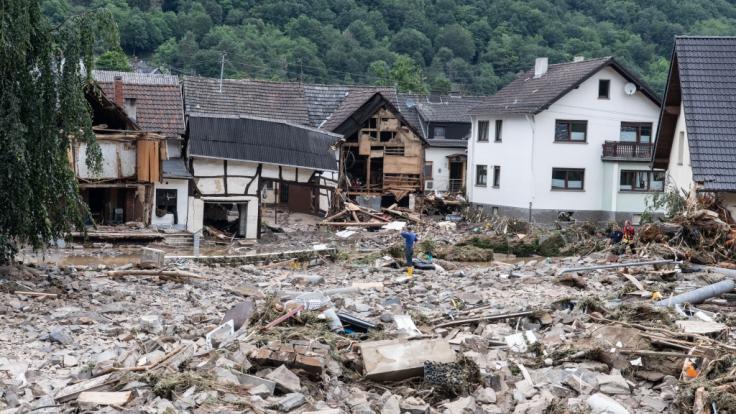 1300 Menschen werden im Kreis Ahrweiler vermisst. (Foto)