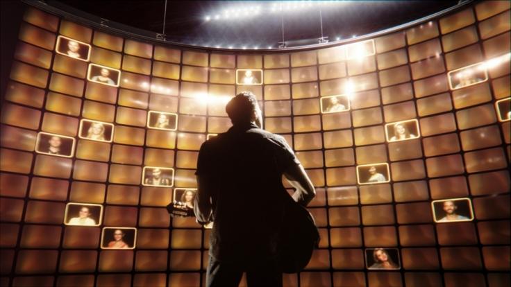 Im Mittelpunkt von Rising Star steht eine riesige LED-Wand, auf der die Zuschauerstimmen erscheinen sollen. (Foto)
