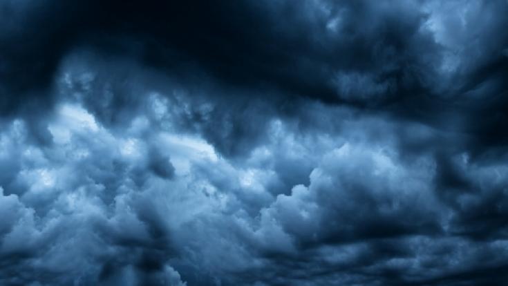 Erstmals hat sich an der Küste Europas ein Hurrikan ausgebildet. (Foto)