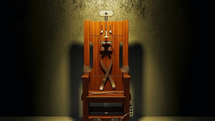 Für den elektrischen Stuhl war der 14-Jährige eigentlich zu klein. (Foto)