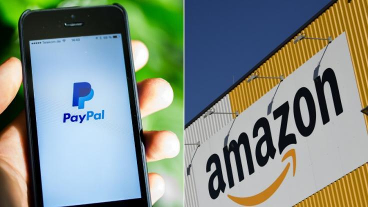 Phishing-Betrüger haben es auf Paypal- und Amazon-Kunden abgesehen.