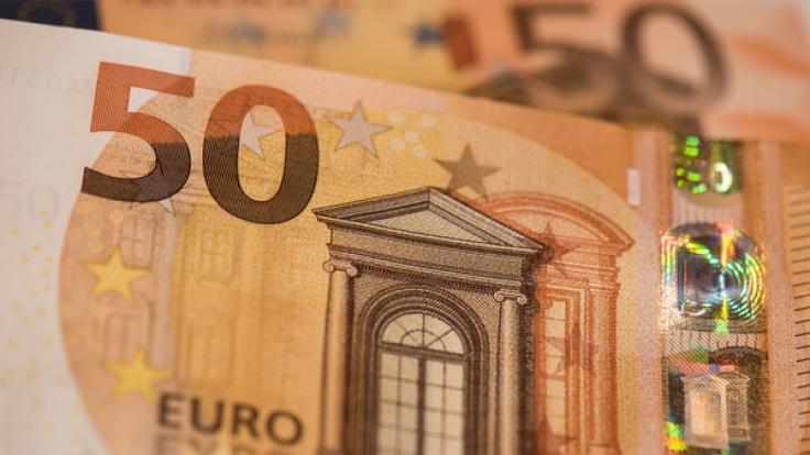 Fälschungssicher: Der neue 50-Euro-Schein. (Foto)