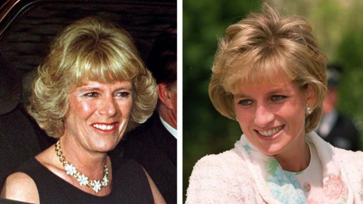 Prinzessin Diana und Herzogin Camilla. (Foto)
