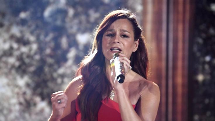 Andrea Berg entschuldigt sich nach der Konzert-Absage in Halle bei ihren Fans. (Foto)