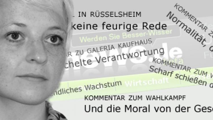 news.de-Redakteurin Ines Weißbach. (Foto)