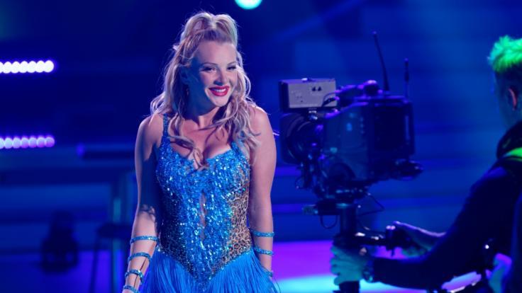 "Evelyn Burdecki bei ""Let's Dance"". (Foto)"