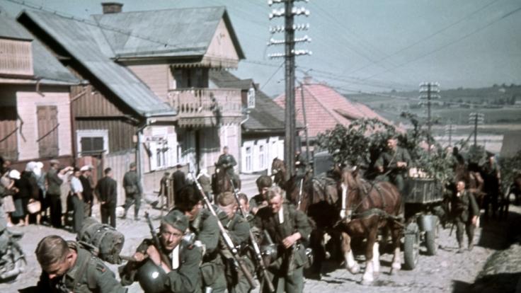 Teile der Wehrmacht standen im 2. Weltkrieg unter Drogen. (Foto)