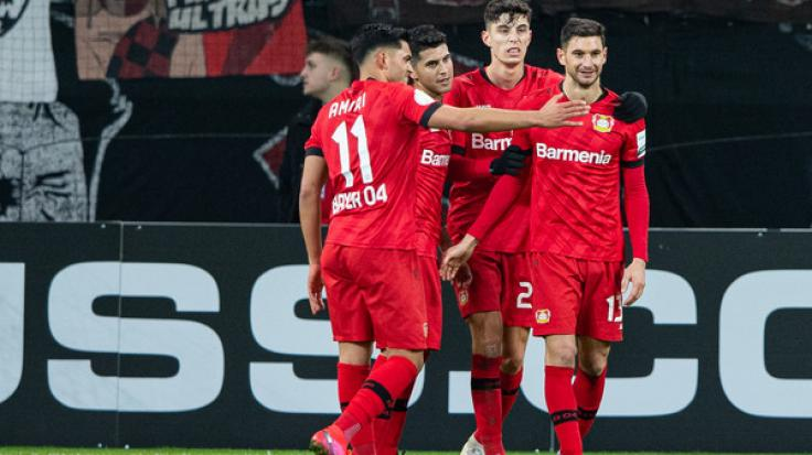 Leverkusen steht im DFB-Pokal-Viertelfinale.