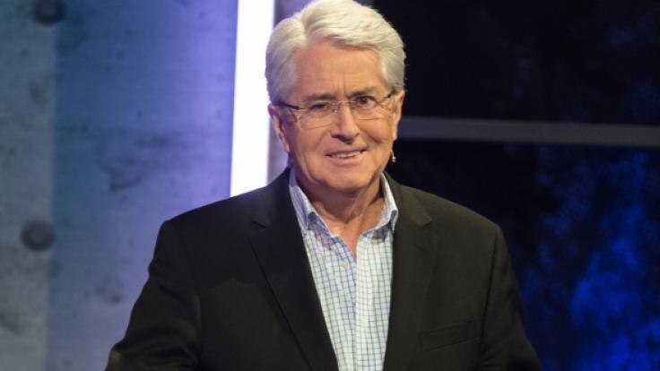 Der TV-Moderator Frank Elstner ist an Parkinson erkrankt.