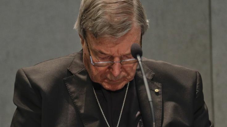 Kardinal George Pell ist zu sechs Jahren Haft verurteilt worden. (Foto)