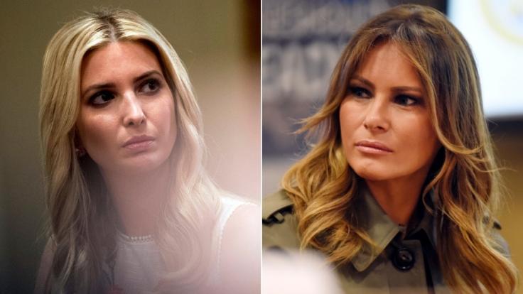 Wie steht es um die Beziehung von Melania und Ivanka Trump? (Foto)