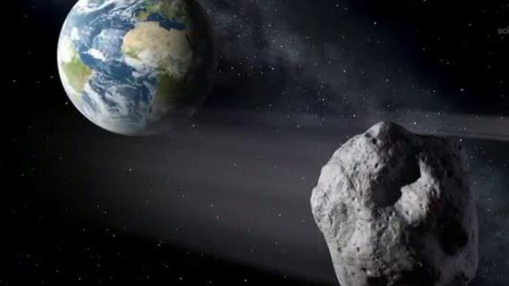 Die Nasa beobachtet Asteroiden, um rechtzeitig handeln zu können.