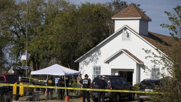 Bei einem Amoklauf in Sutherland Springs (Texas) mussten 26 Menschen sterben.