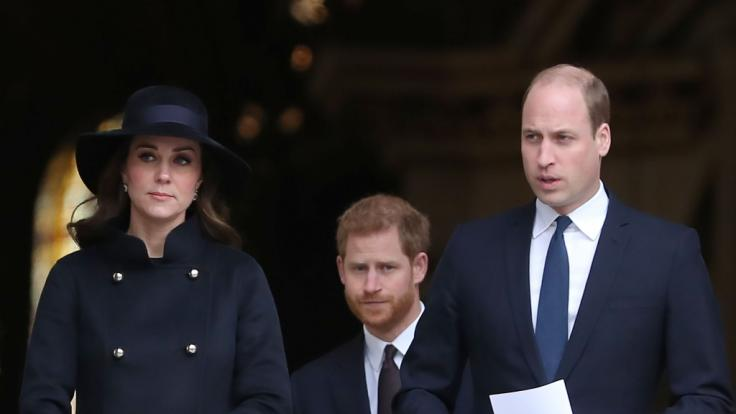 Kate Middleton, Prinz Harry und Prinz William in den Royal-News.