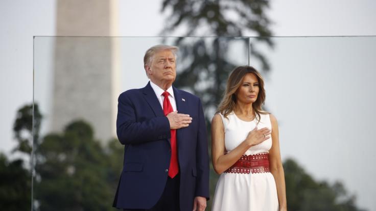 Ist Melania Trump als First Lady und Frau von Donald Trump glücklich? (Foto)