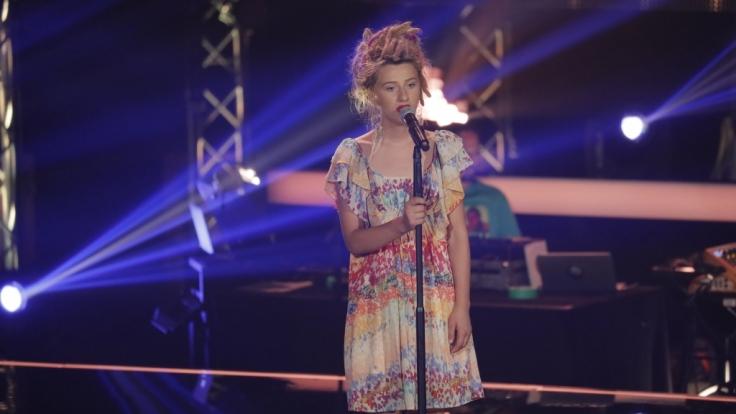 """Natia Todua singt in den zweiten Blind Auditions bei """"The Voice of Germany"""" einen Song von Nina Simone. (Foto)"""