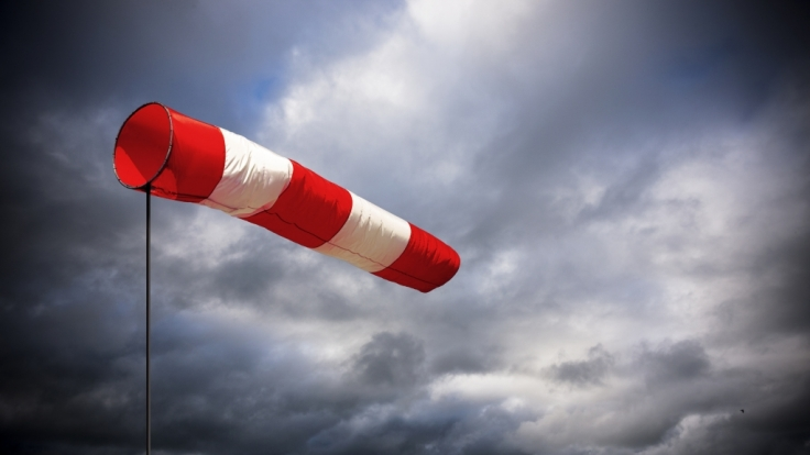 Eine Sturmserie hat Deutschland auch am Wochenende fest im Griff. (Foto)
