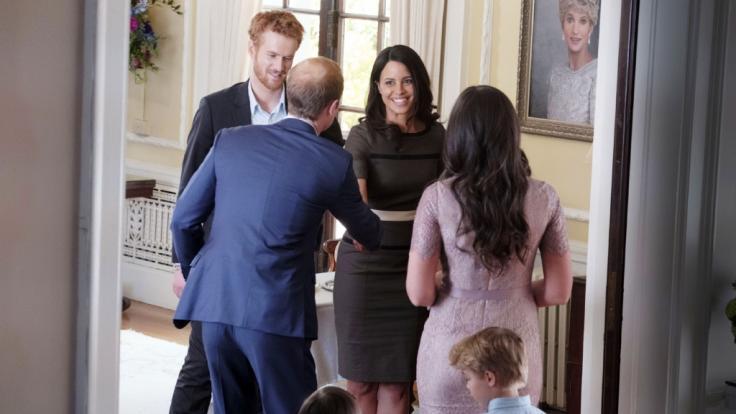 Prinz William und Herzogin Kate kamen im Film nicht besonders gut weg. (Foto)