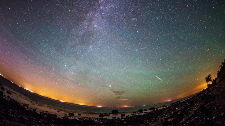 Sternschnuppen der Lyriden streifen Südtirols Nachthimmel