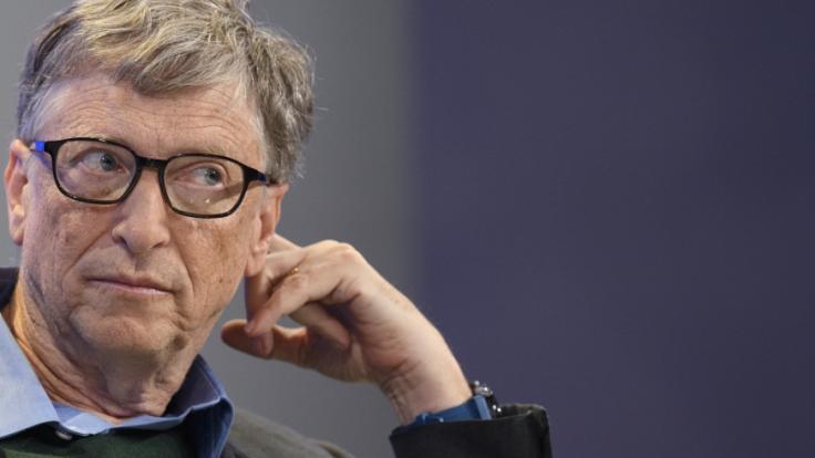 Allerhand Behauptungen kursieren über den Microsoft-Gründer Bill Gates. (Foto)