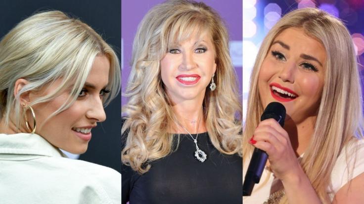 Lena Gercke, Carmen Geiss und Beatrice Egli fanden sich dank teils nackter Tatsachen dieser Tage in den Promi-News wieder.