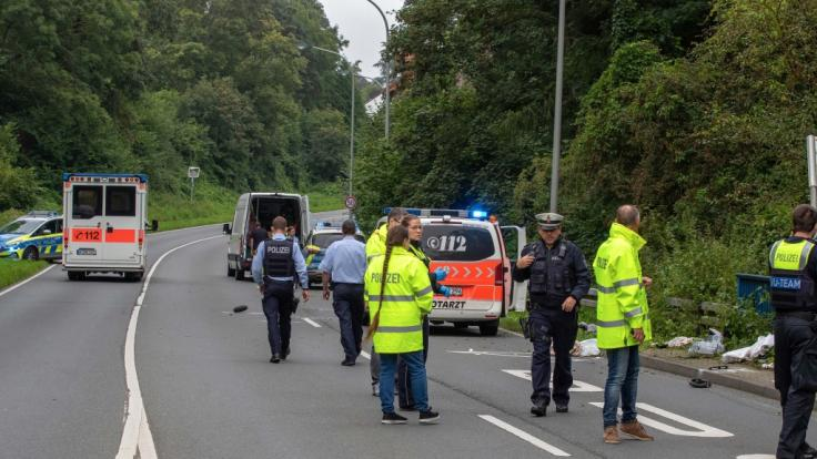 In Würselen starb eine Mutter und ihr Baby bei einem Unfall an einer Bushaltestelle. (Foto)