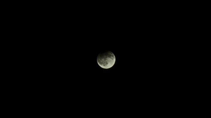 Im Februar kann man eine Halbschatten-Mondfinsternis über Deutschland beobachten.