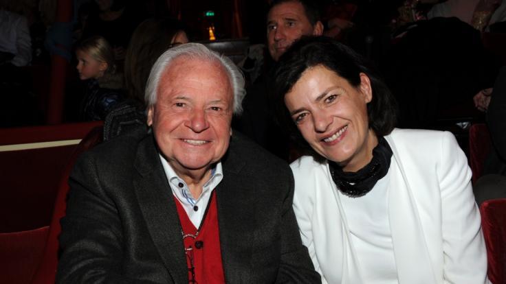 Der Sterne-Koh Eckart Witzigmann und seine Lebensgefährtin Nicola Witzigmann.