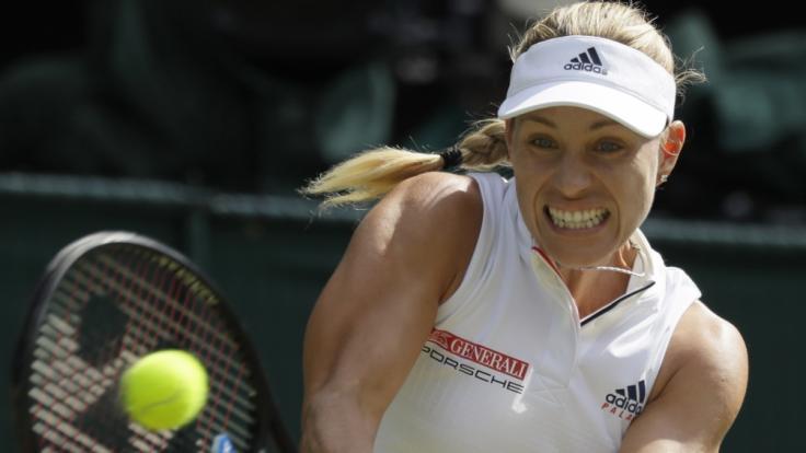 Die deutsche Tennisspielerin Angelique Kerber. (Foto)