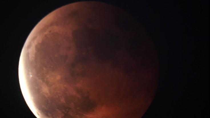 Am 28. September 2015 findet über Deutschland eine totale Mondfinsternis statt. (Foto)