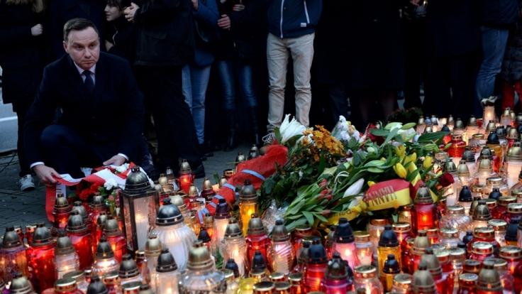 Große Trauer in Paris nach den Terroranschlägen vom 13. November.