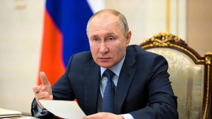 Wladimir Putin hat seine neue Mega-Rakete enthüllt. (Foto)
