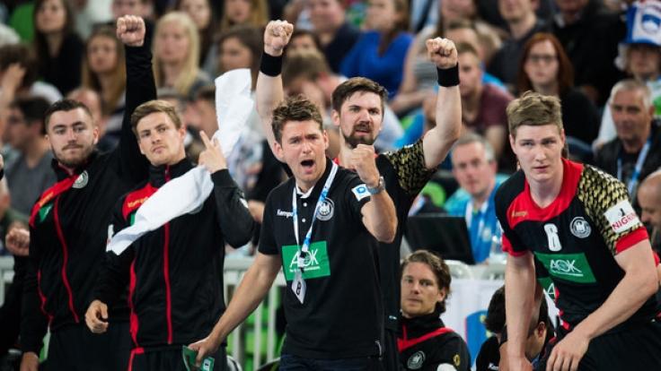 """In der EM-Qualifikation glänzte das DHB-Team von Christian Prokop mit einem 23:32-Sieg - die """"Bad Boys"""" wollen diesen Triumph im Rückspiel am 06.05.2017 wiederholen und so vorzeitig ihr Ticket für die EM 2018 lösen. (Foto)"""