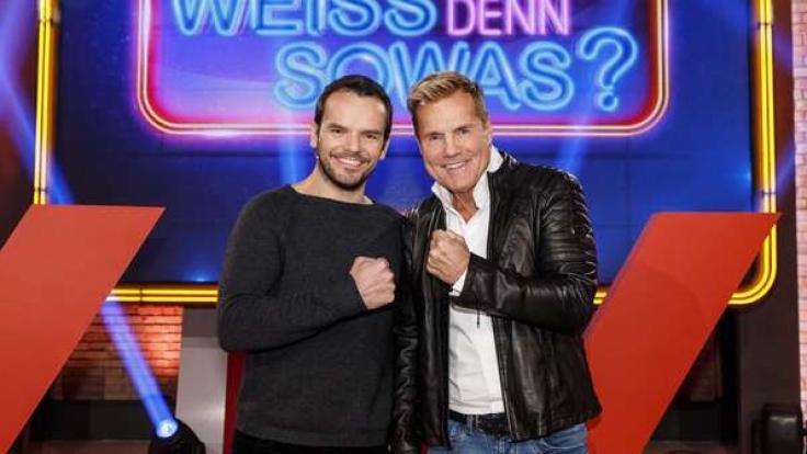 Dieter Bohlen (r.) und Steffen Henssler treffen im Ersten aufeinander.