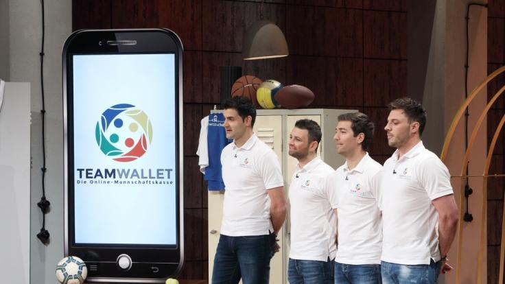 """Die Jungs von """"Teamwallet"""" hatten über ihr Produkt eine Einigung mit Investor Frank Thelen erzielt. (Foto)"""
