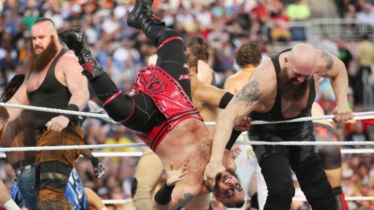 Wrestling soll vor allem Unterhaltung bieten. (Foto)