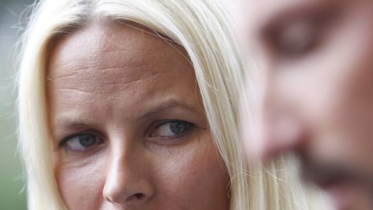 Prinzessin Mette Marit von Norwegen wurde übel mitgespielt. (Foto)