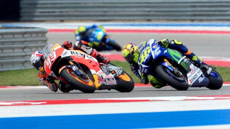 Beim Großen Preis von Spanien in Jerez 2015 geht das MotoGP-Duell zwischen Marc Marquez und Valentino Rossi weiter.
