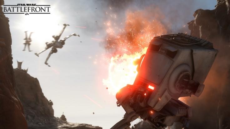 """Der """"Überlebenskampf"""" auf Tatooine lädt zu Koop-Action ein und konnte bereits in der Beta gespielt werden. (Foto)"""