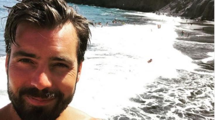Auf Instagram zeigt sich Sat.1-Nachrichtensprecher Max Oppel - wie hier im Urlaub auf Teneriffa - auch von seiner privaten Seite.