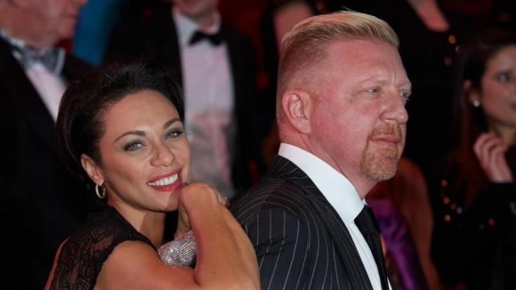 Boris Becker und seine Frau Lilly.